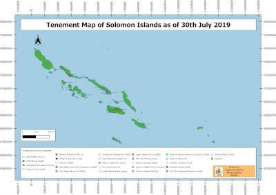 2019 August Tenement Map